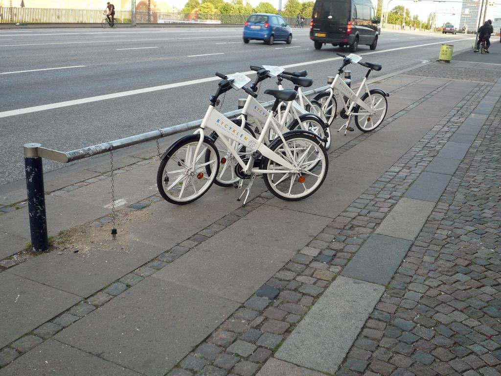 Leihfahrradsystem in Kopenhagen
