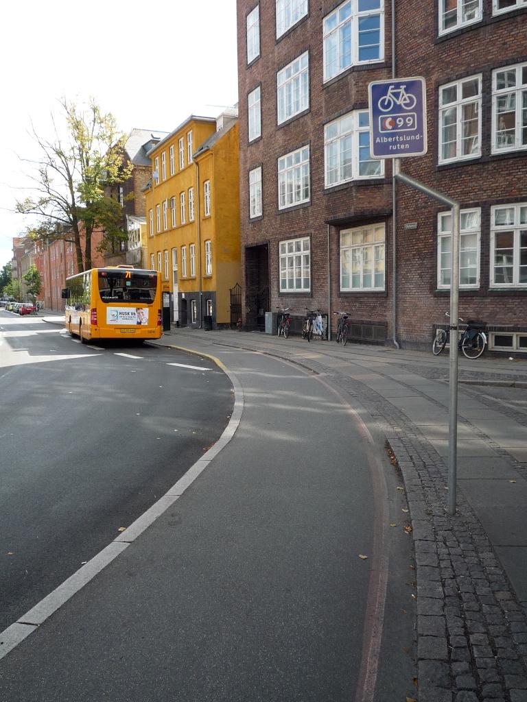 C99 Radschnellweg in Kopenhagen
