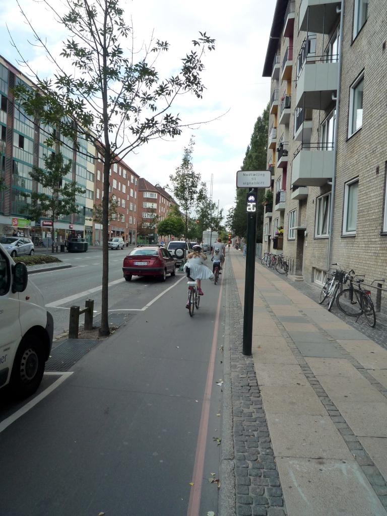 Grünphasenzähler für Radfahrer